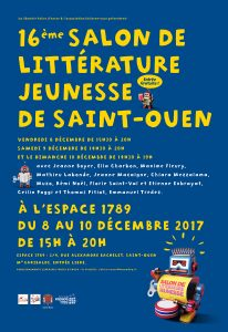 Salon litterature jeunesse 2017